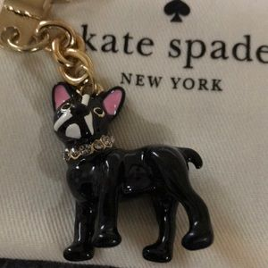 kate spade Accessories - Kate Spade Dog Keychain
